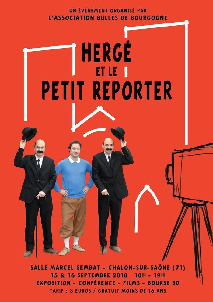 Journées du patrimoine 2018 - Hergé et le petit reporter