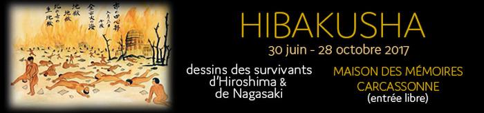 Journées du patrimoine 2017 - Hibakusha, dessins des survivants d'Hiroshima et Nagasaki