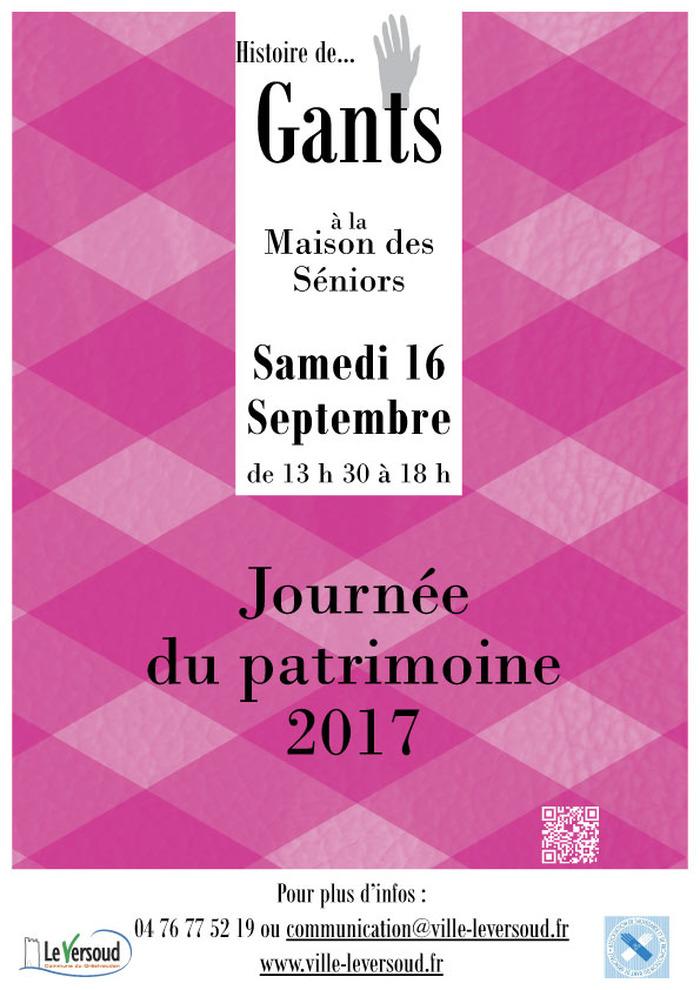 Journées du patrimoine 2017 - Histoire de... gant - Exposition