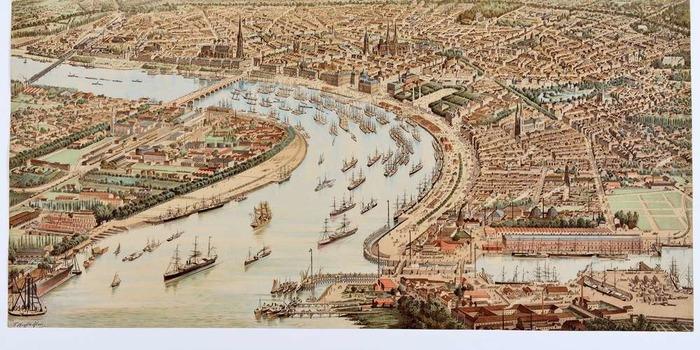 Histoire des fortifications «maritimes» de Bordeaux ou comment surveiller la Garonne