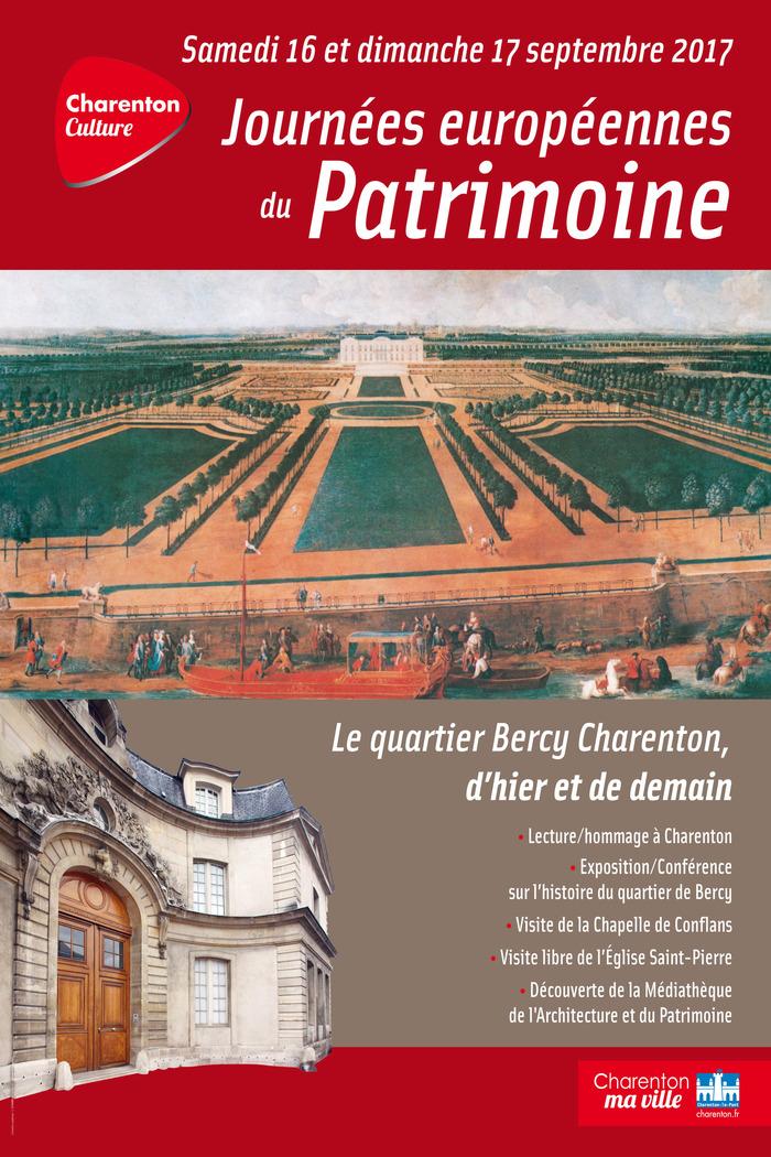 Journées du patrimoine 2017 - Histoire du quartier de Bercy