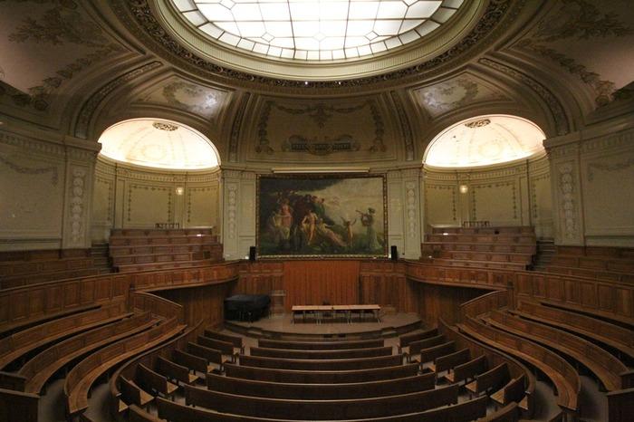 Crédits image : L'Amphithéâtre Richelieu © Chancellerie des universités de Paris