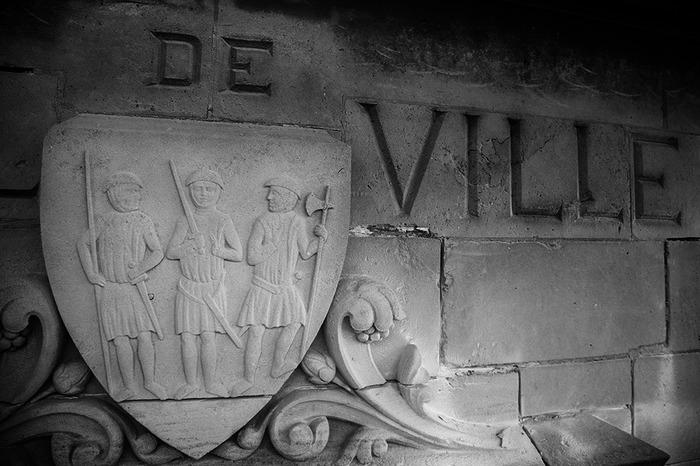 Crédits image : Blason de la commune - Détail -Bruno Dehaye