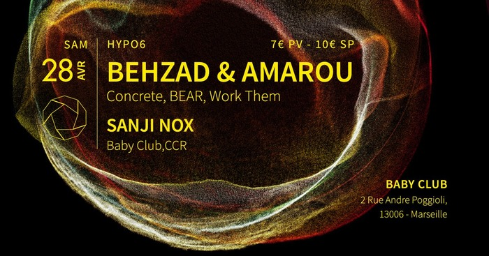 Hypoб - Behzad & Amarou (Concrete, BEAR, Work Them) + Sanji Nox