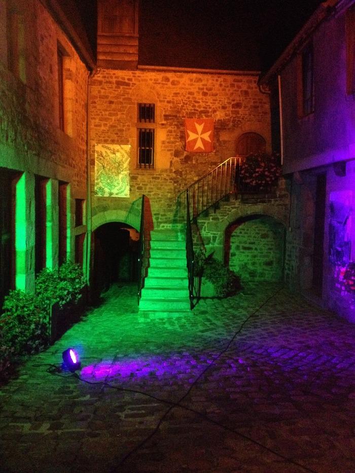 Journées du patrimoine 2017 - Visite libre des principaux monuments illuminés du coeur historique de Villedieu