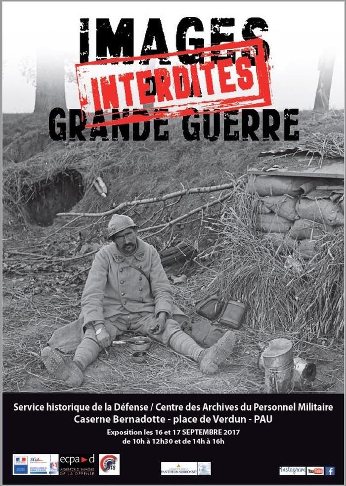 Journées du patrimoine 2017 - Images interdites de la Grande Guerre
