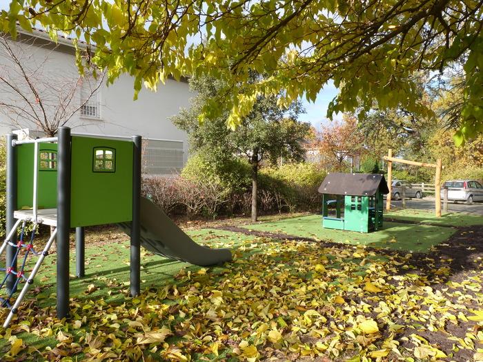 Inauguration aire de jeux pour enfants petit Bois du Bousquet