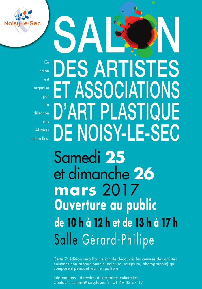 Journées du patrimoine 2017 - Inauguration des Portes Ouvertes des ateliers d'artistes noiséens