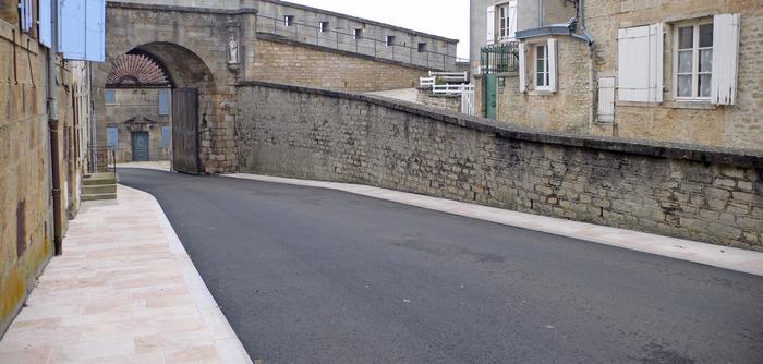 Journées du patrimoine 2018 - Inauguration des travaux de la porte de l'Hôtel de Ville
