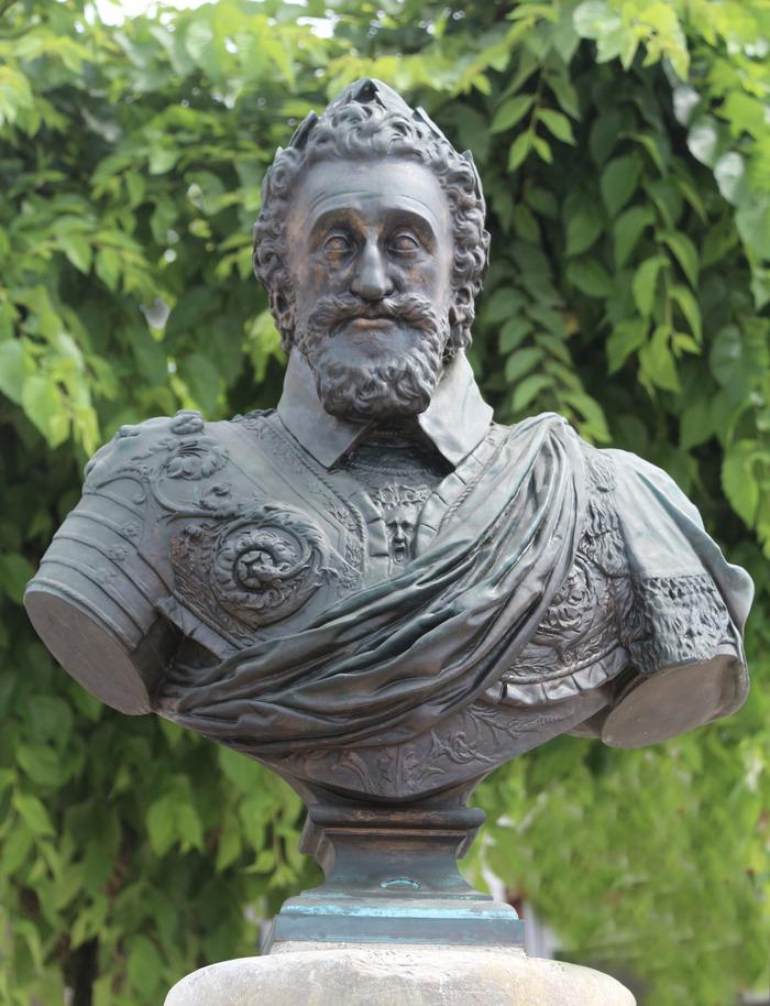 Journées du patrimoine 2018 - Inauguration du buste d'Henri IV à Saubusse