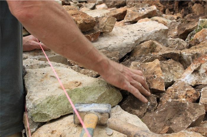 Journées du patrimoine 2018 - Initiation à la construction en pierre sèche