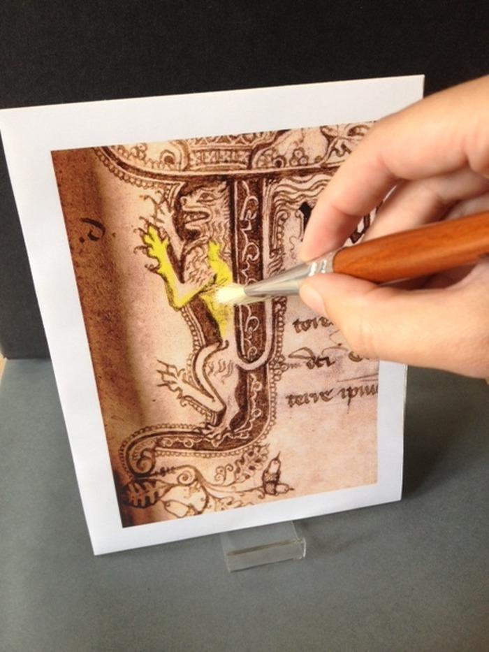 Journées du patrimoine 2018 - Initiation à l'art de l'enluminure
