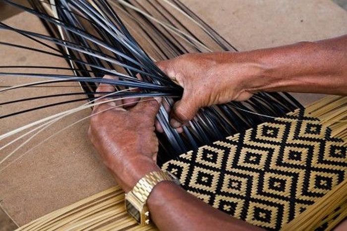 Journées du patrimoine 2018 - Initiation à la vannerie amérindienne à Kaw