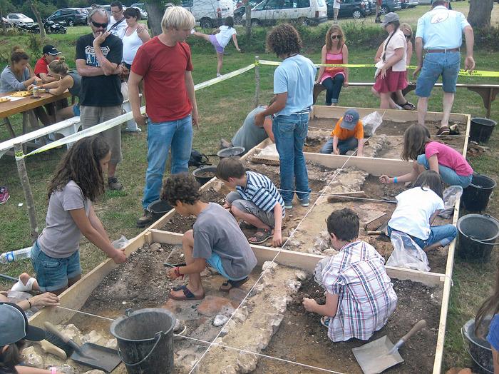Journées du patrimoine 2018 - Initiation aux techniques de fouilles