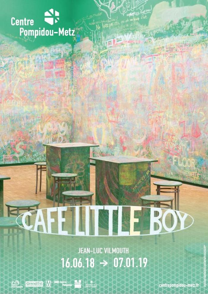 Journées du patrimoine 2018 - Installation Café Little Boy