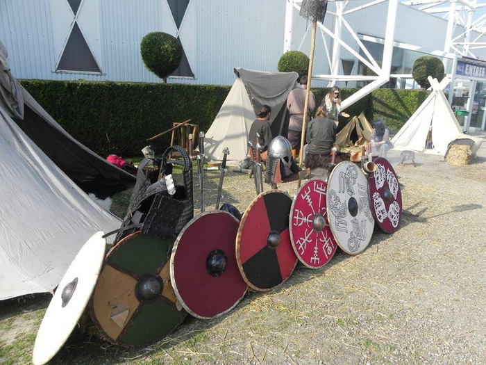 Journées du patrimoine 2018 - Installation d'un camp Viking et découverte de leur vie quotidienne