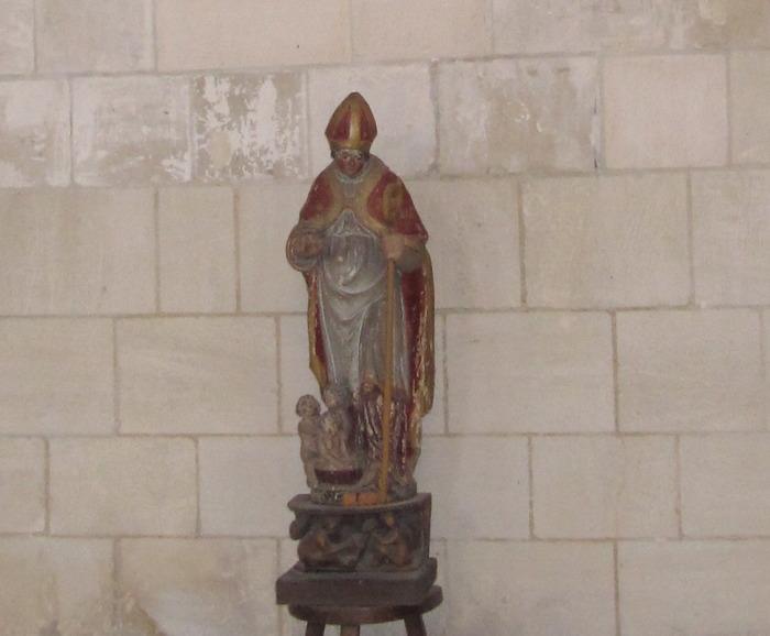 Journées du patrimoine 2018 - Inauguration de l'installation de la statuette de Saint-Nicolas