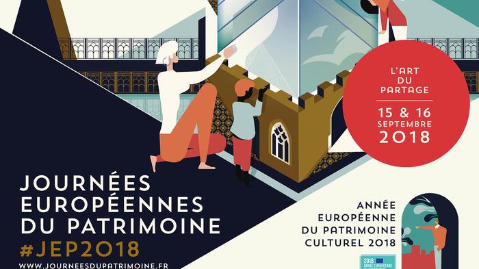 Journées du patrimoine 2018 - Interprétation Français-LSF de la visite de l'exposition