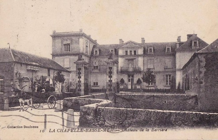 Crédits image : Château de la Berrière