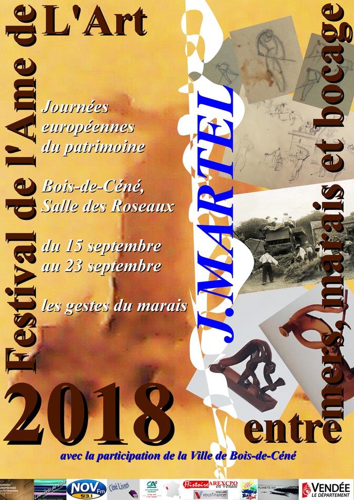 Journées du patrimoine 2018 - J.Martel, les gestes du marais
