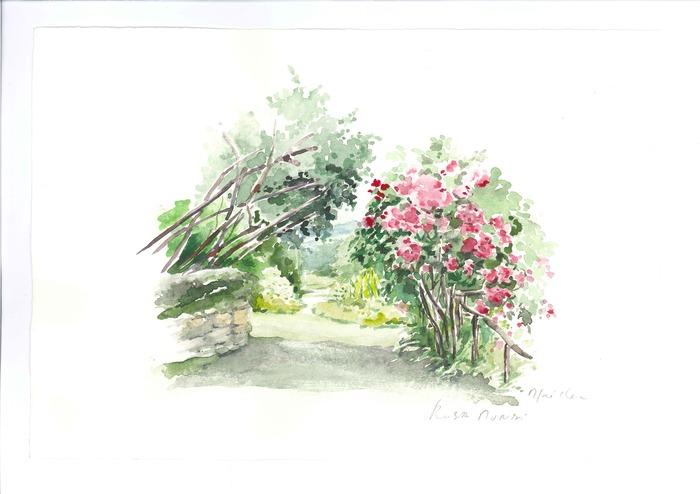 Jardins d 39 ici aquarelles de l 39 atelier du jeudi for Atelier du jardin d acclimatation