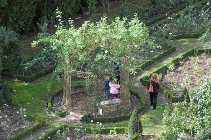 Journées du patrimoine 2018 - Visite commentée des jardins du château de Saint-Bernard.