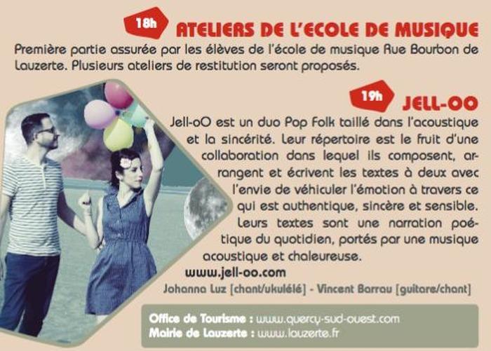 Journées du patrimoine 2017 - Jell-oO en concert