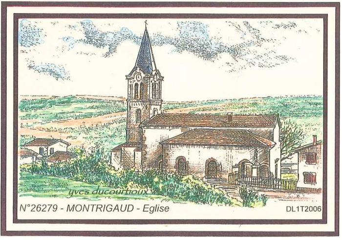 Journées du patrimoine 2018 - Visite libre ou commentée si besoin de l'église de Montrigaud.