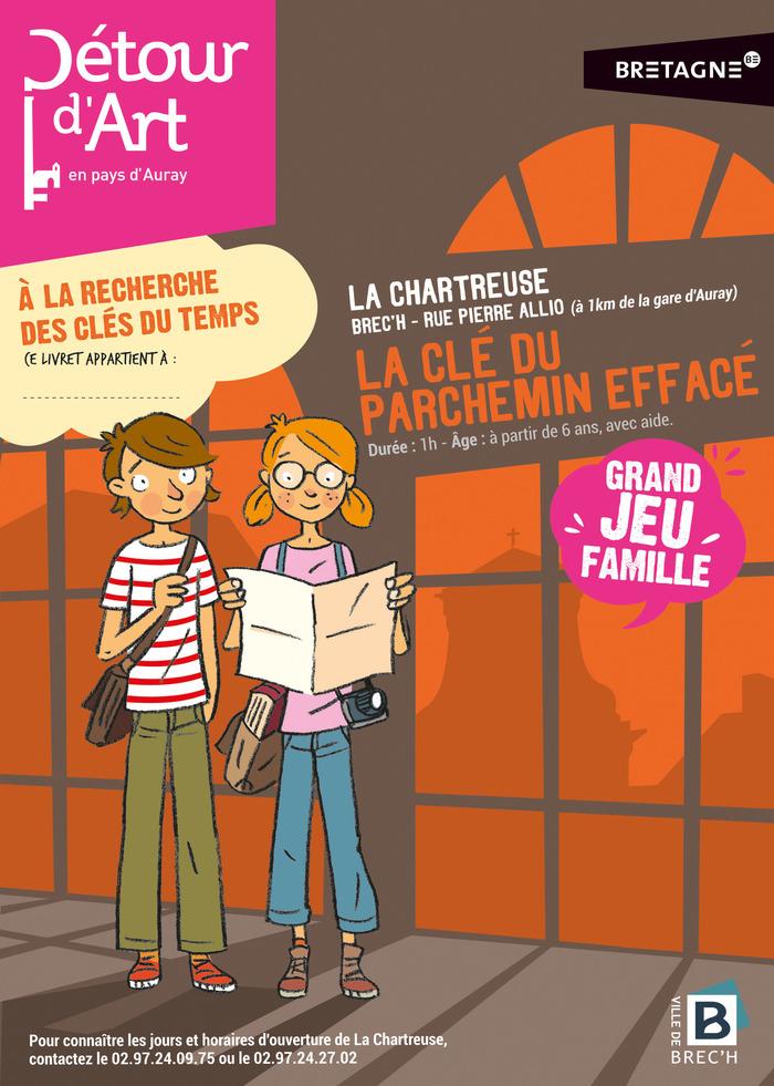 Journées du patrimoine 2018 - Jeu « À la recherche des clés du temps » dans la Chartreuse de Brec'h