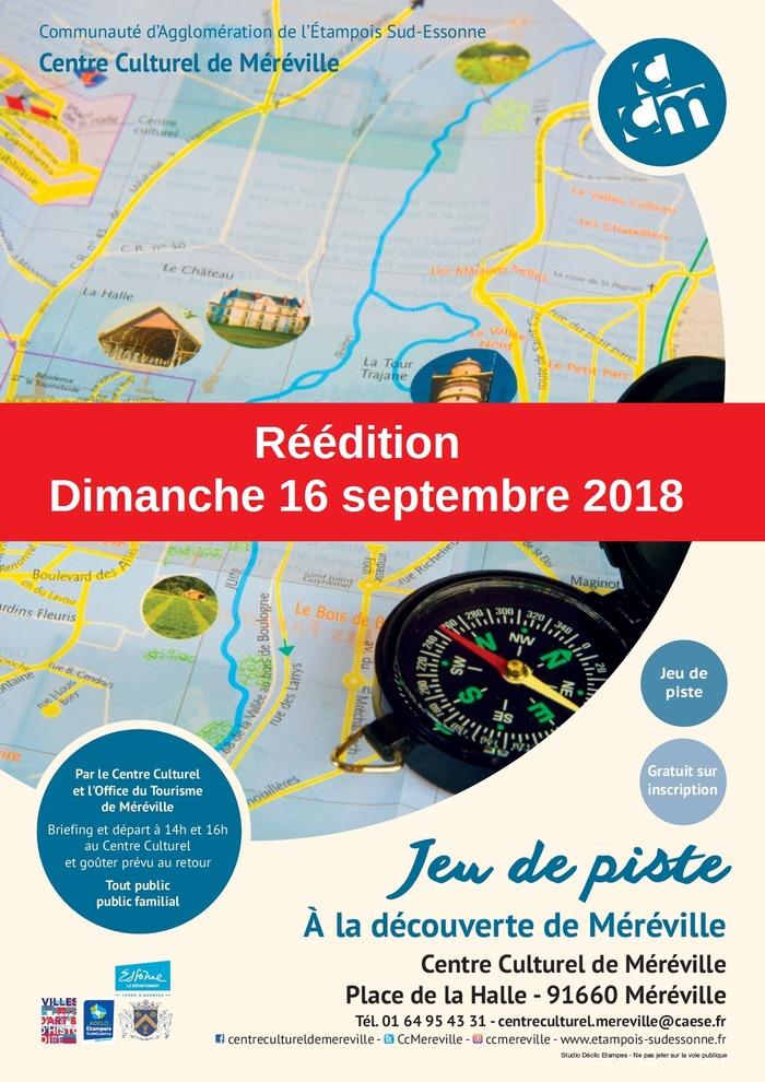 Journées du patrimoine 2018 - Jeu de piste - À la découverte de Méréville