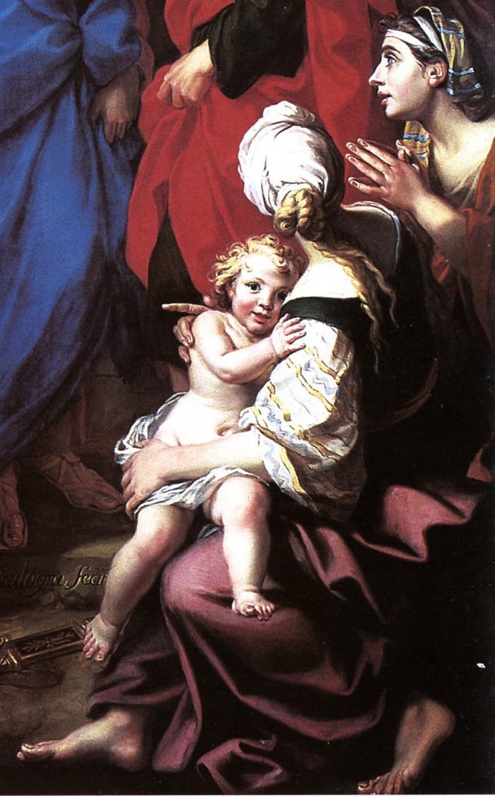 Crédits image : Le centurion aux pieds du Christ de Louis de Boullogne, dépot du Louvre au Musée des beaux-arts d'Arras