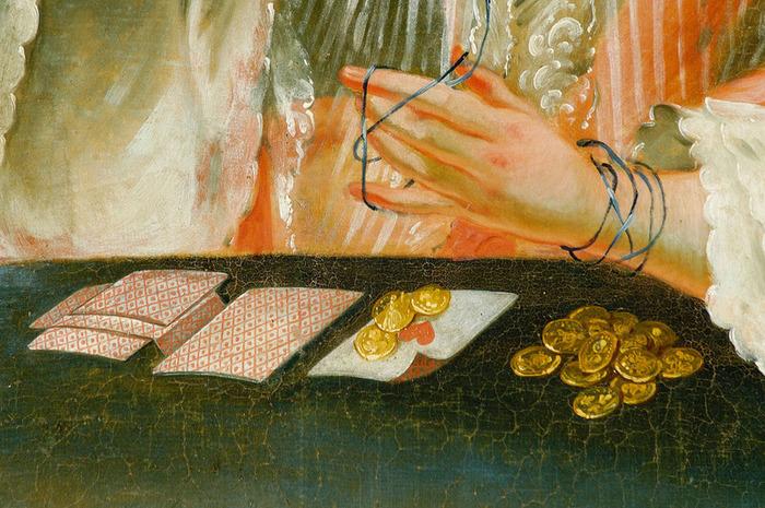 Crédits image : La partie de Pharaon (détail), Johann Baptist Raunacher (1729-1771), Château d'Eggenberg