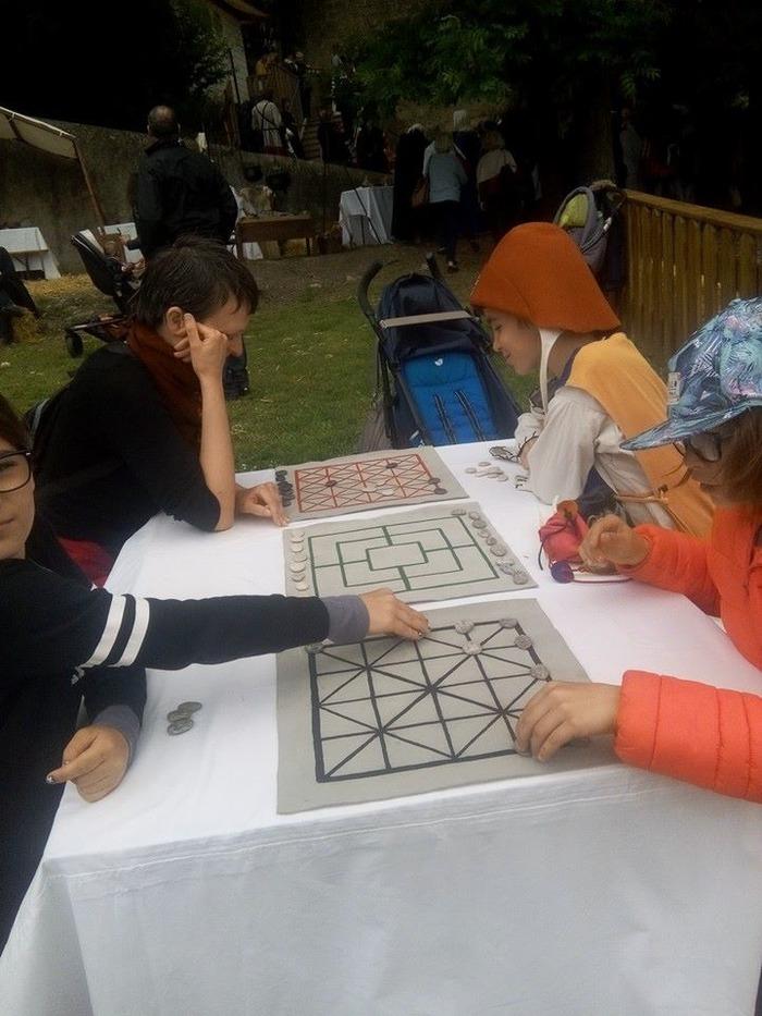 Journées du patrimoine 2018 - Jeux médiévaux à la Tour de Crest