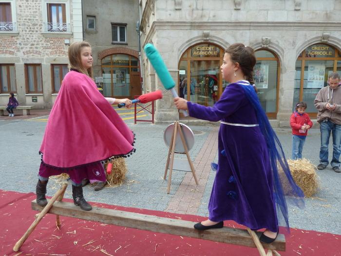 Journées du patrimoine 2017 - Jeux médiévaux
