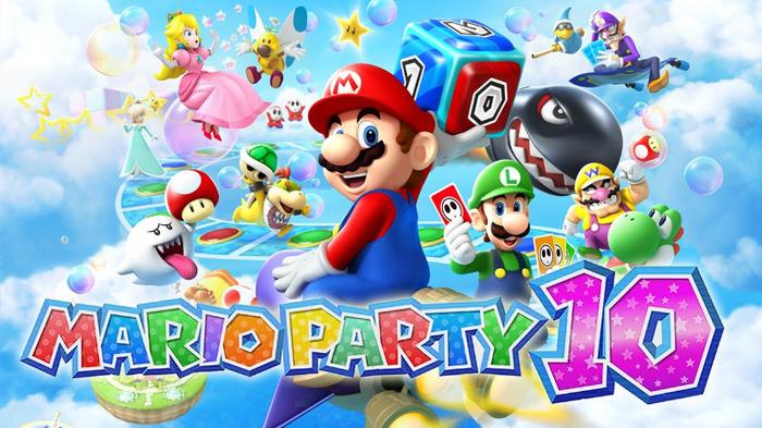 Jeux vidéo : Mario Party 10
