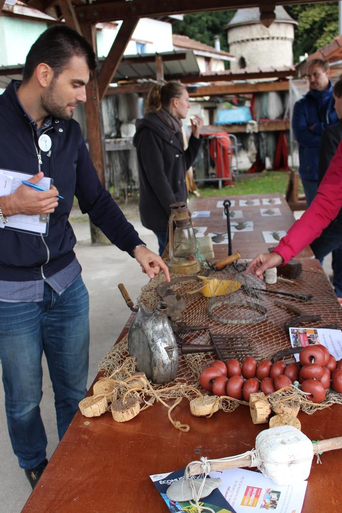 Journées du patrimoine 2018 - Jeux lémaniques à l'écomusée de la pêche et du lac