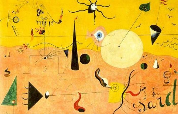 Joan Miro, l'artiste magique au delà du réel