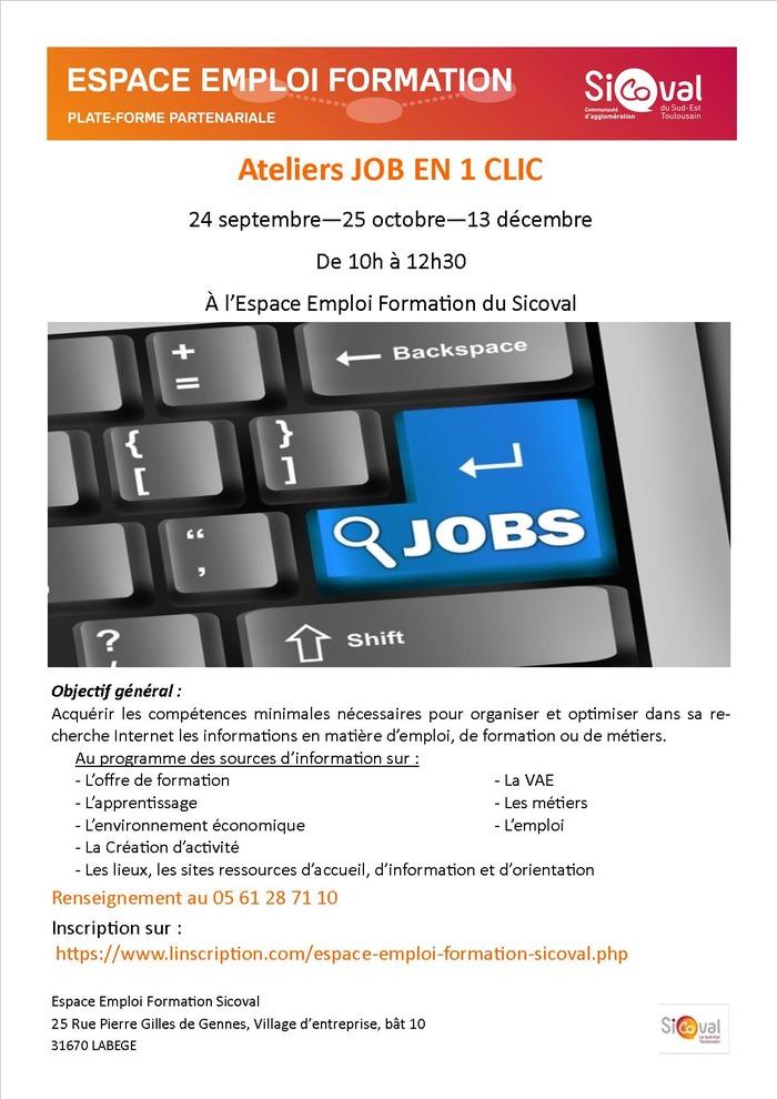 Job en 1 clic