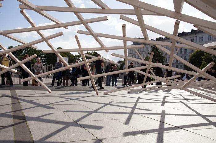 Journées du patrimoine 2018 - Johann Le Guillerm - Installation L'Amu, Architexture