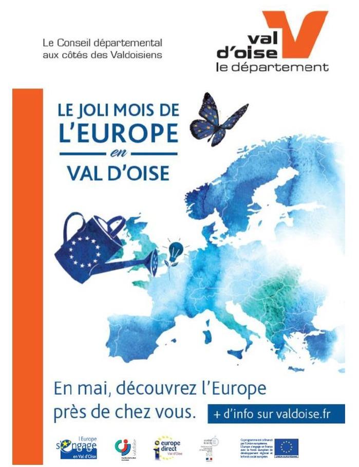 Joli mois de l'Europe au Conseil départemental du Val d'Oise