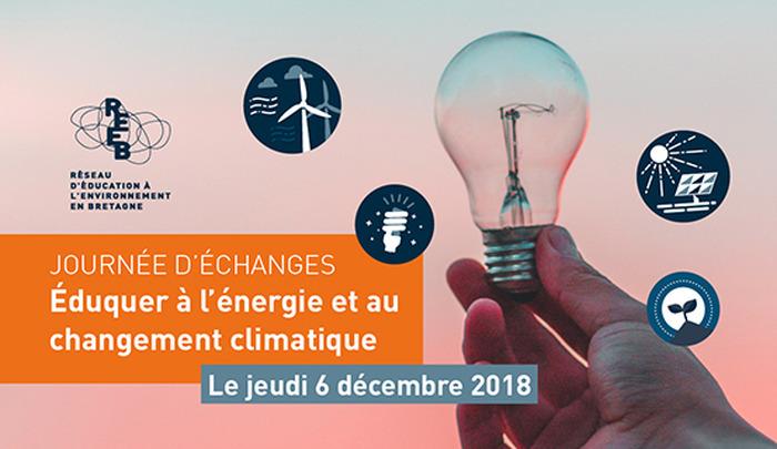 Journée d'échanges « Éduquer à l'énergie et au changement climatique »