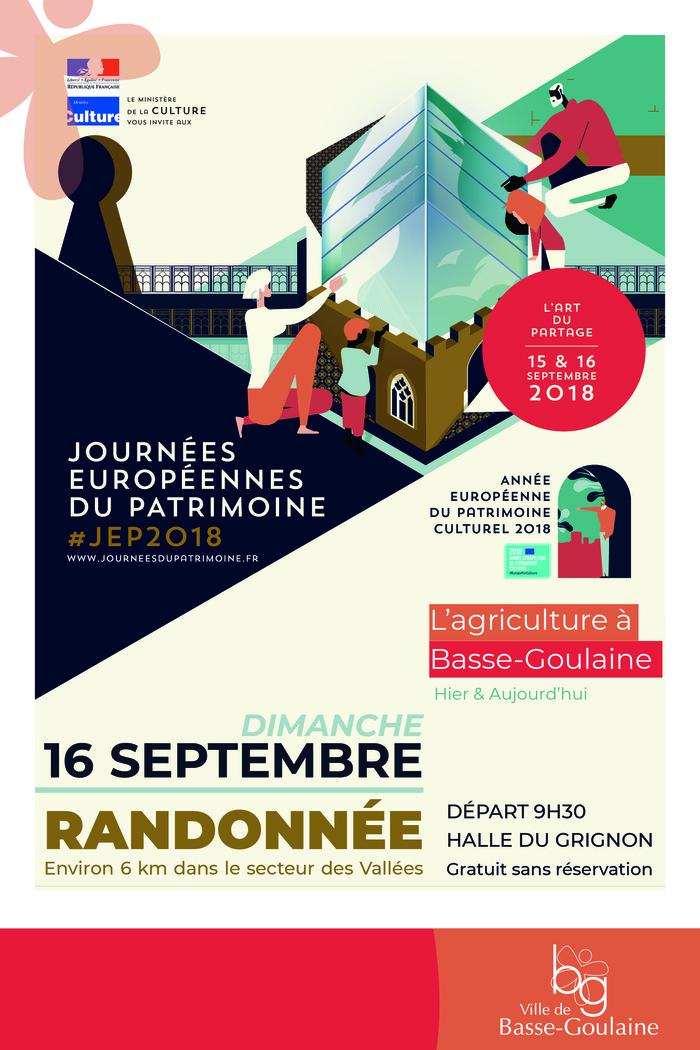 Journées du patrimoine 2018 - Journée du patrimoine : l'agriculture à Basse-Goulaine
