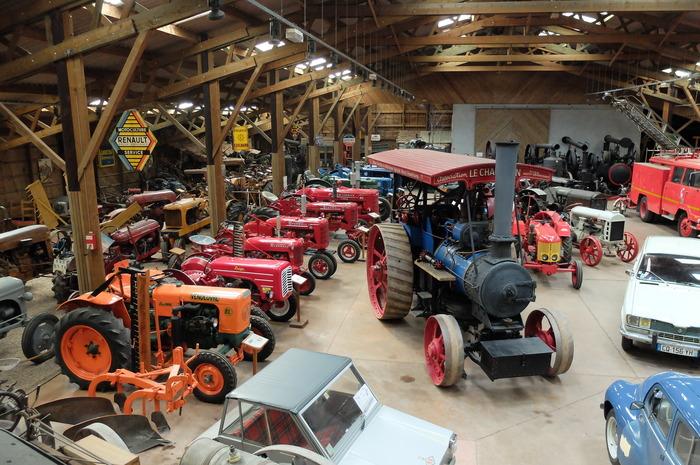Journées du patrimoine 2018 - Visite du musée charolais du machinisme agricole