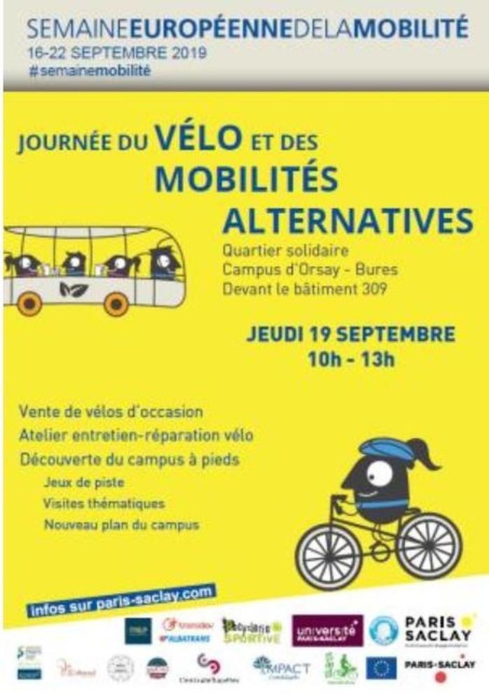 Journée du vélo et des mobilités alternatives