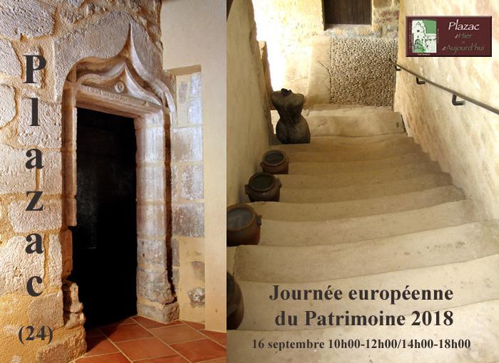 Journées du patrimoine 2018 - Visite guidée du vieux bourg de Plazac et de son jardin médiéval