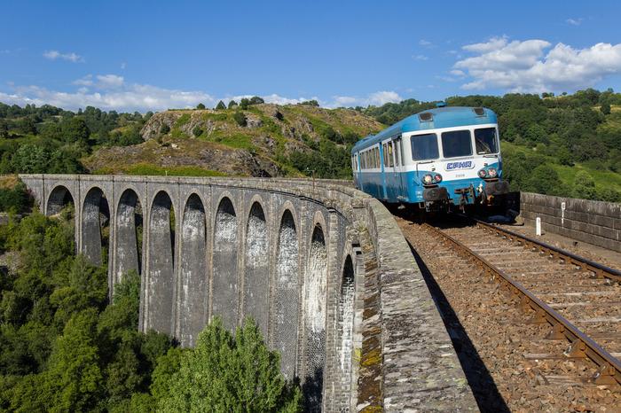 Journées du patrimoine 2018 - Visite commentée avec le train touristique Gentiane Express.