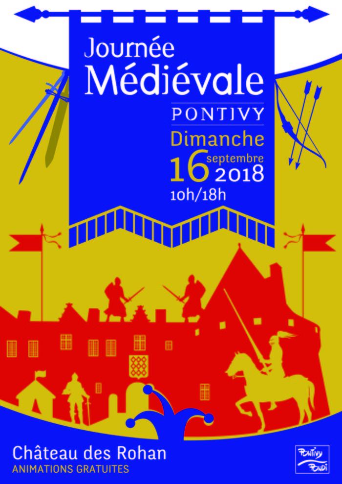 Journées du patrimoine 2018 - Journée médiévale dans les douves du château des Rohan