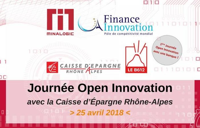 Journée Open Innovation avec la Caisse d'Epargne Rhône Alpes