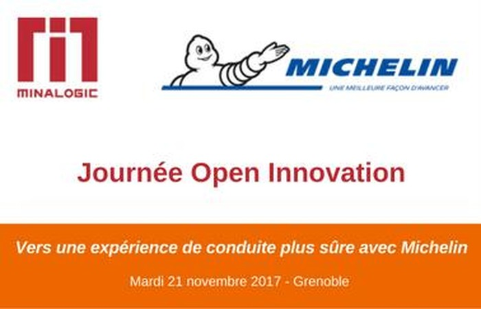 Journée Open Innovation avec Michelin