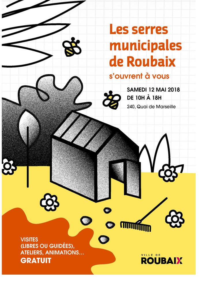Journée Portes Ouvertes des Serres Municipales de Roubaix